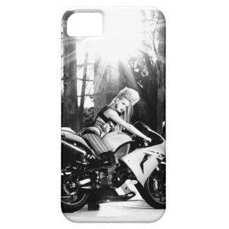 Kawasaki Motorcycle, biker chick, bike week, girl Case For The iPhone 5