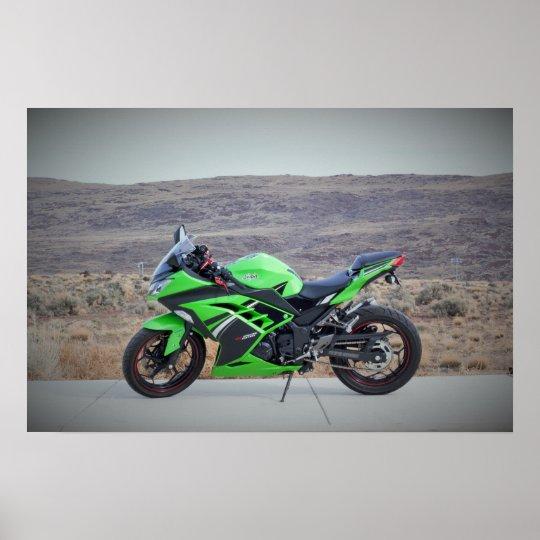 Kawasaki Ninja 300 Poster