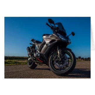 Kawasaki Z1000SX Motorcycle Card