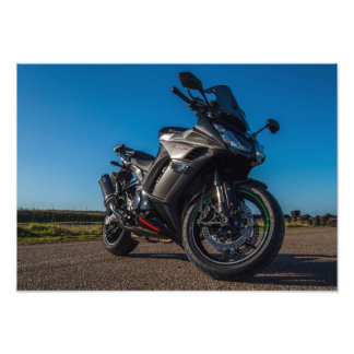 Kawasaki Z1000SX Motorcycle Photo Print