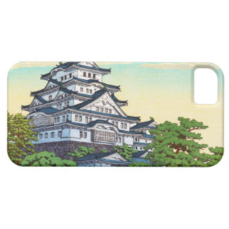 Kawase Hasui Pacific Transport Lines Himeji Castle iPhone 5 Covers