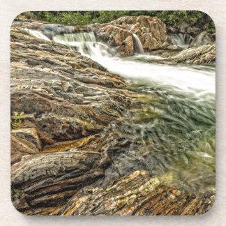 Kaweah River Falls Drink Coasters