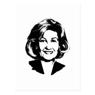 Kay Bailey Hutchison Postcard