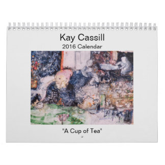 Kay Cassill 2016 Calendar