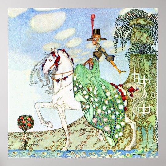 Kay Nelsen's Beautiful Princess Minotte Poster
