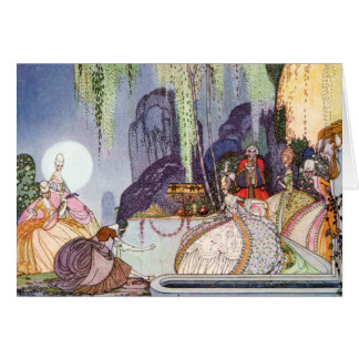Kay Nielsen's Cinderella at the Ball Card