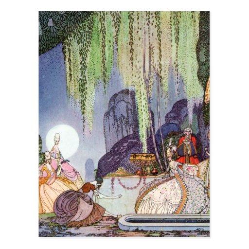 Kay Nielsen's Cinderella at the Ball Postcard