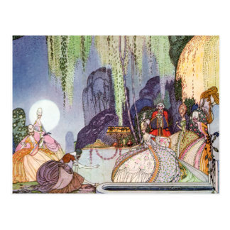 Kay Nielsen's Cinderella at the Ball Postcard