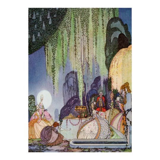 Kay Nielsen's Cinderella at the Ball Poster