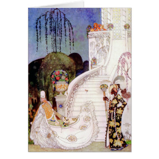 Kay Nielsen's Cinderella Fairy Tale Greeting Card