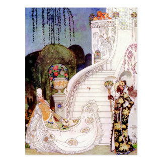 Kay Nielsen's Cinderella Fairy Tale Postcard