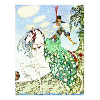 Kay Nielsen's Fairy Tale Princess Minotte Postcard