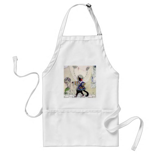 Kay Nielsen's Fairy Tale Puss In Boots Aprons