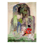 Kay Nielsen's Prince Charming from Sleeping Beauty Poster