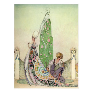Kay Nielsen's Princess and the Gardener Postcard