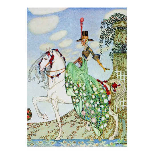 Kay Nielsen's The Beautiful Princess Minotte Poster