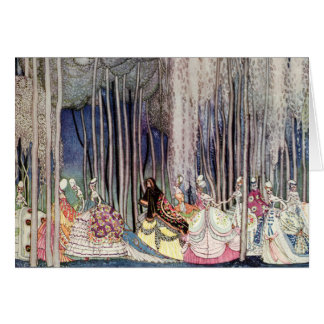 Kay Nielsen's The Twelve Dancing Princesses Greeting Card