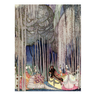 Kay Nielsen's The Twelve Dancing Princesses Postcard