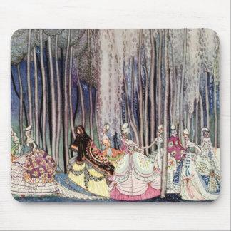 Kay Nielsen's Twelve Dancing Princesses Mouse Mat