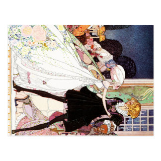 Kay Nielsen's Twelve Dancing Princesses Post Card