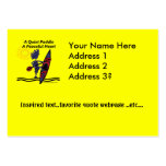 Kayak A Quiet Paddle Waves Pack Of Chubby Business Cards
