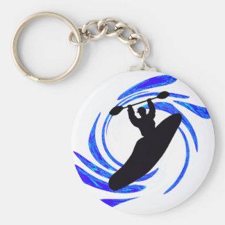 Kayak Any Elements Basic Round Button Key Ring