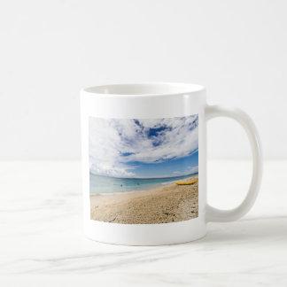 Kayak at South Sea Island, Fiji Coffee Mug