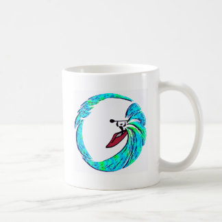 Kayak big surge basic white mug