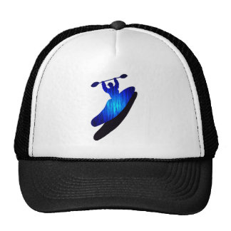 Kayak Blue Bays Trucker Hats