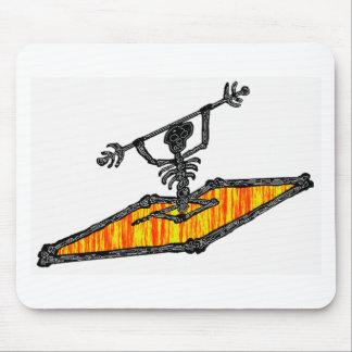 Kayak Bones Drifter Mouse Pad