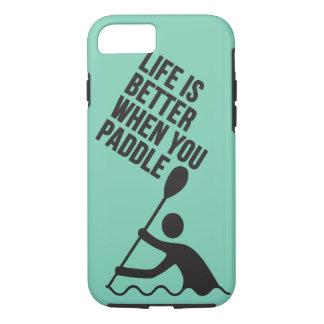 Kayak canoe paddle design iPhone 7 case