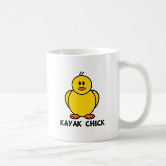 Kayak Chick Coffee Mug