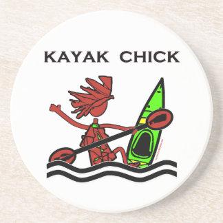 Kayak Chick Designs Things Beverage Coaster