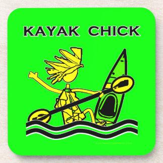 Kayak Chick Designs & Things Coasters
