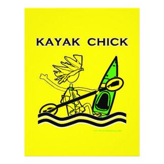 Kayak Chick Designs Things Flyer Design