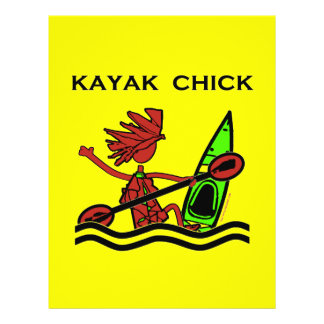 Kayak Chick Designs & Things Flyer Design