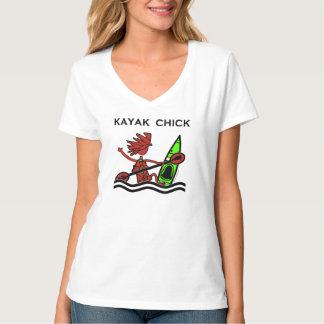 Kayak Chick Designs & Things T Shirt