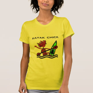 Kayak Chick Designs & Things T-Shirt