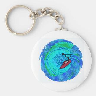 Kayak Cleys Dream Basic Round Button Key Ring