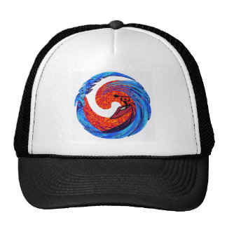 Kayak Controlling Thoughts Trucker Hat