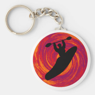 Kayak Cosmic Waters Basic Round Button Key Ring