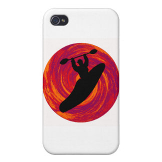 Kayak Cosmic Waters Cover For iPhone 4