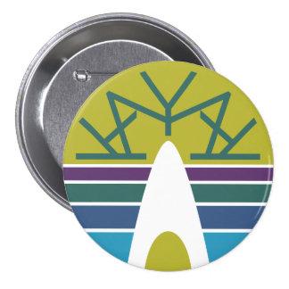 Kayak Emblem 3.0 7.5 Cm Round Badge