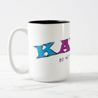 Kayak... Go With The Flow Mug