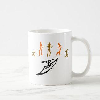 Kayak Groove' N Coffee Mugs
