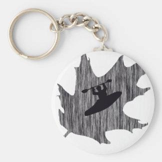 Kayak Hazy Oaks Basic Round Button Key Ring