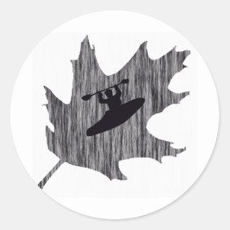 Kayak Hazy Oaks Sticker