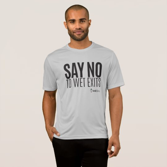 Kayak Hipster - Say No to Wet Exits - Sports - Men T-Shirt