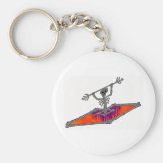 kayak hot games basic round button key ring