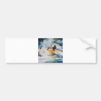 Kayak Image Bumper Sticker